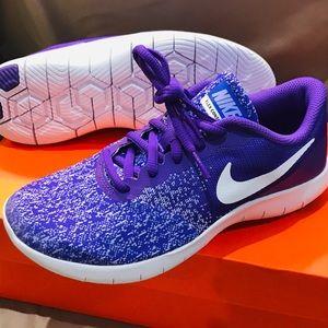 NEW Nike Girls Purple Size 3.5 Sneakers